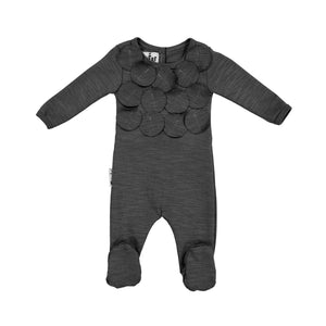 Baby Footie | Maniere | Circle Time | Black