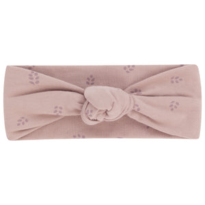 Baby Headband | Leaf Knot | Desert Mauve | Ely's & Co SS21