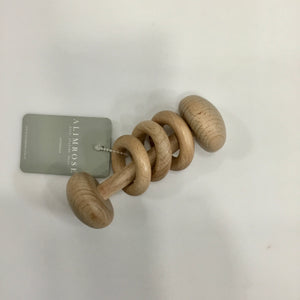 Beechwood Teether Stick Rattle | Natural | Alimrose
