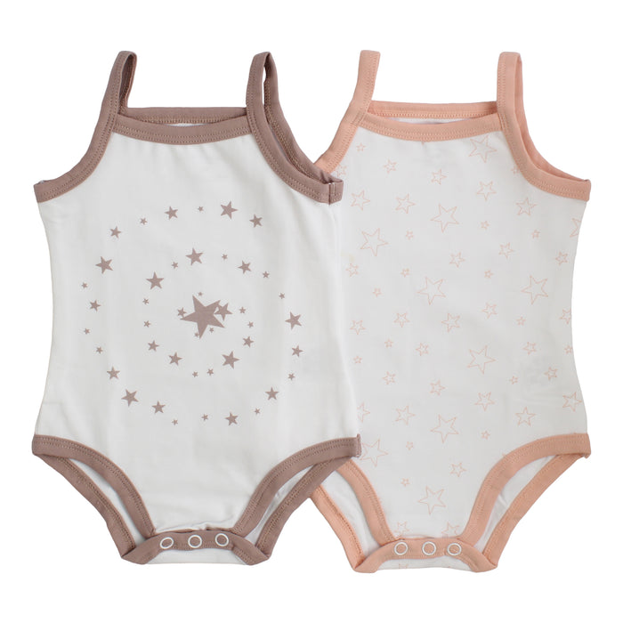 Bodysuit / Undershirt | Petit Clair| Girl 2 Pak | Pattern with trim