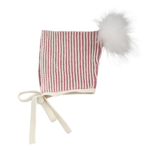 Cloud Nine | Baby Gift Set | Mauve Pinstripes