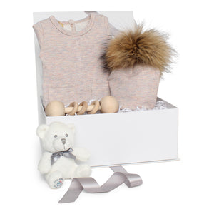 Baby Girl Gift Set AW20 | Sparkle Terry | Pink