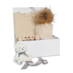 Baby Neutral Gift Set AW20 | Sparkle Terry | Cream