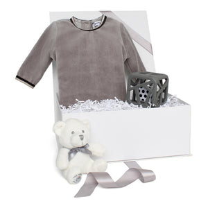 Baby Boy Gift Set AW20 | Velour Vibes | Grey