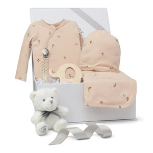 Baby Girl Gift Set | Poppy Charm | Pale Pink/Mauve | SS21