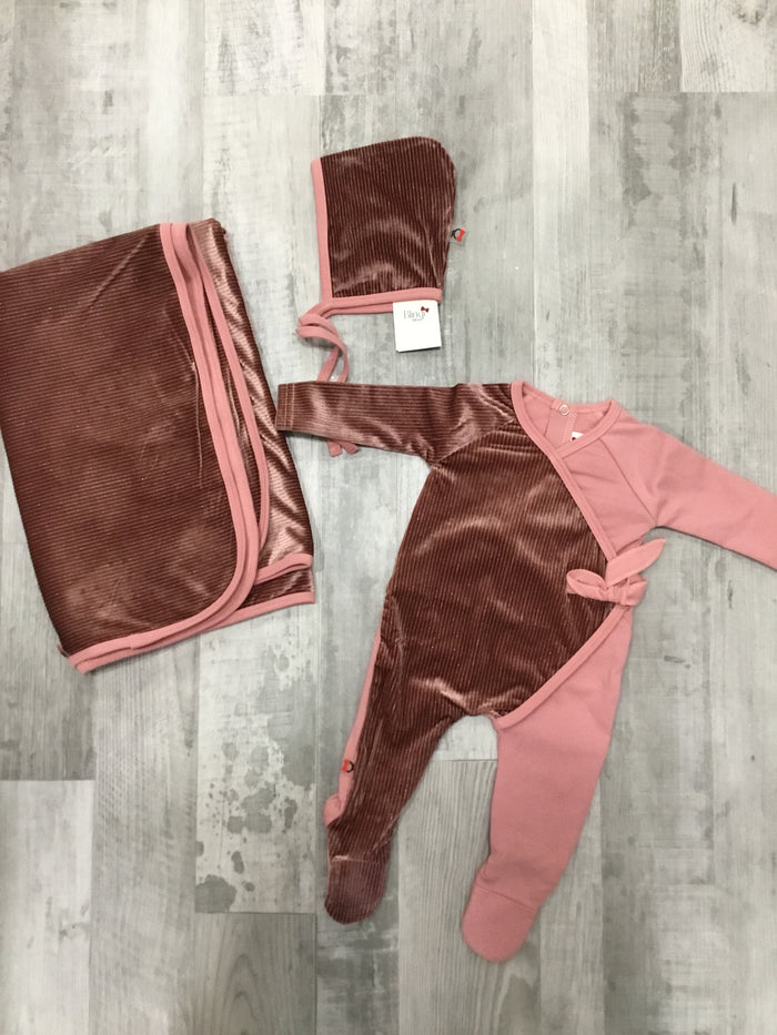 Two Toned Wrap Set | Blinq | Rose