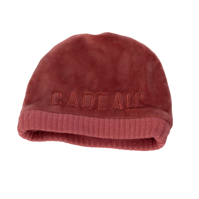Baby Beanie | Cadeau | Ribbed Dipped | Berry