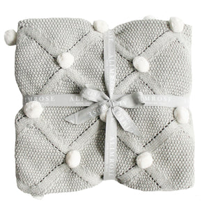Organic Baby Gifts | Pompoms 'n Pixies | Grey