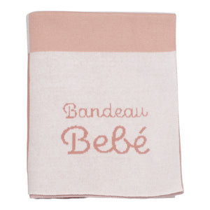 Knit Blanket | Shades Of Pink | Bandeau Bebe