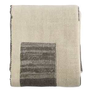 Splendid Spools | Baby Gift Set | Natural & Grey Squares