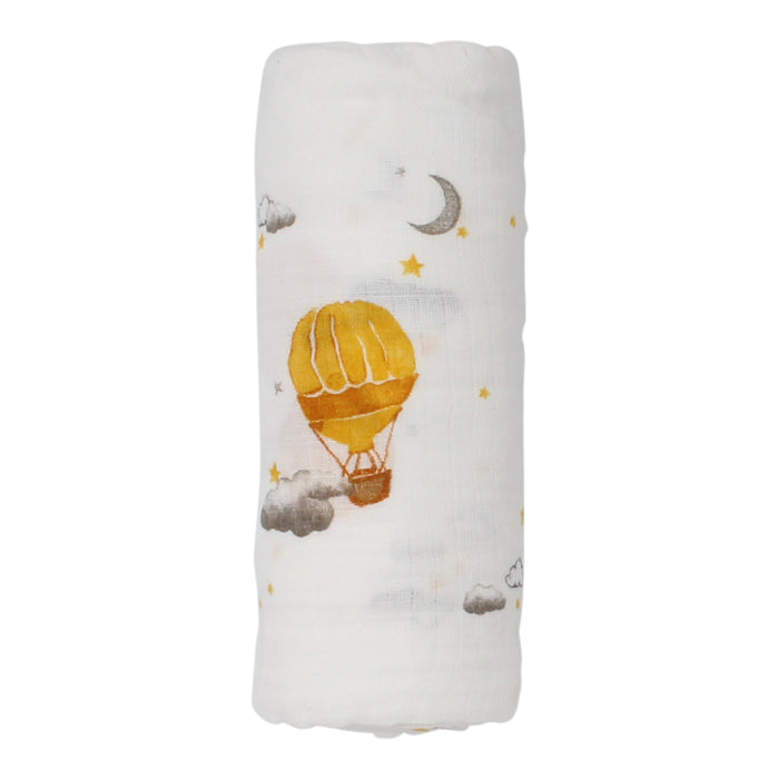 Organic Swaddle | Malabar | Hot Air Balloon