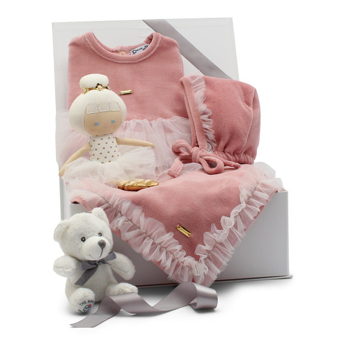 AW19 Baby Gift Set | Baby Ballerina  | Pink and Tulle