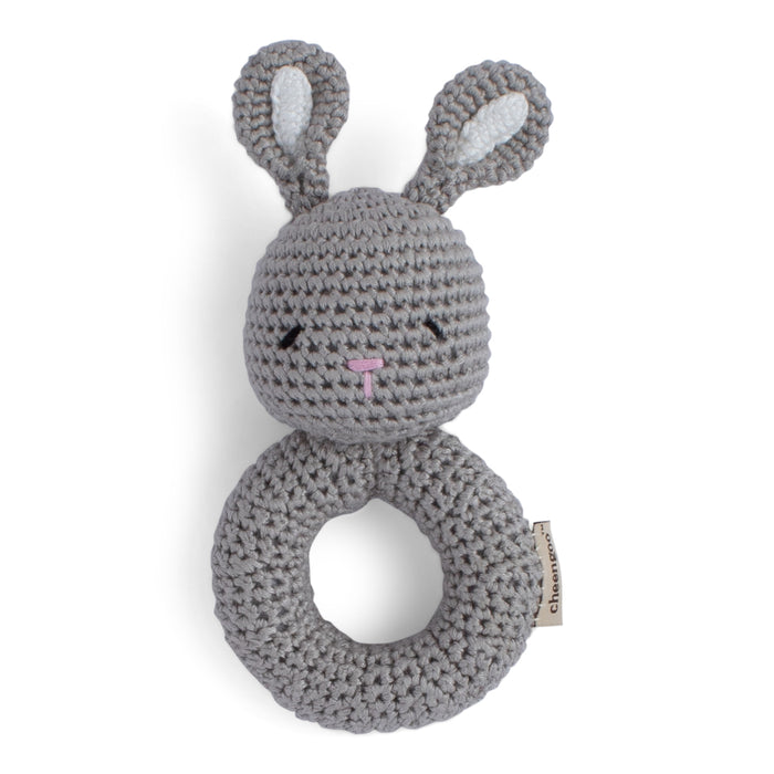 Bunny Crocheted Rattle | Cheengoo