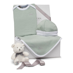 SS20 Baby Gift Set | Crown Prince | Aqua Grey