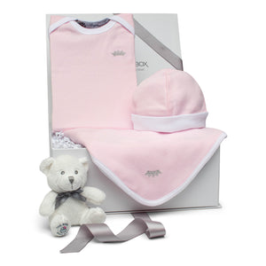 Baby Gift Set | Crown Princess | Gloss Pink