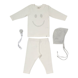 Baby Gift Set Happy Sparkle Silver