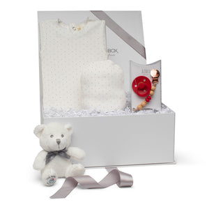 SS20 Baby Gift Set | Lil Adora Dots | Cherry
