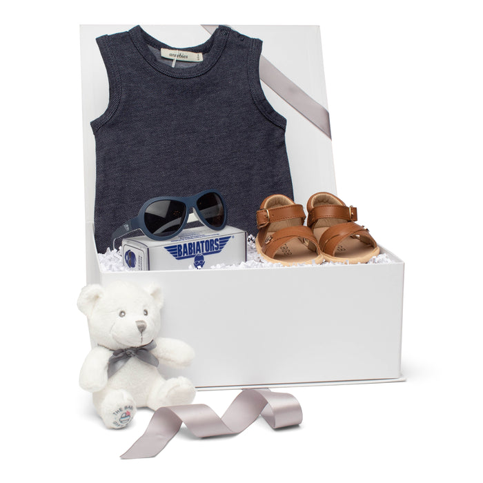 SS20 Baby Gift Set | Shades Of Summer | Blue