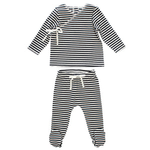 SS21 | Kipp | Stripe Rib Set | Black