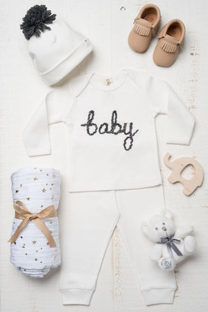 layette baby shower gift for baby boy by the baby gift box
