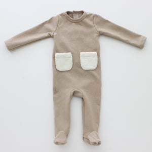 Baby Set | Hatch'd | Patch Pocket | Beige