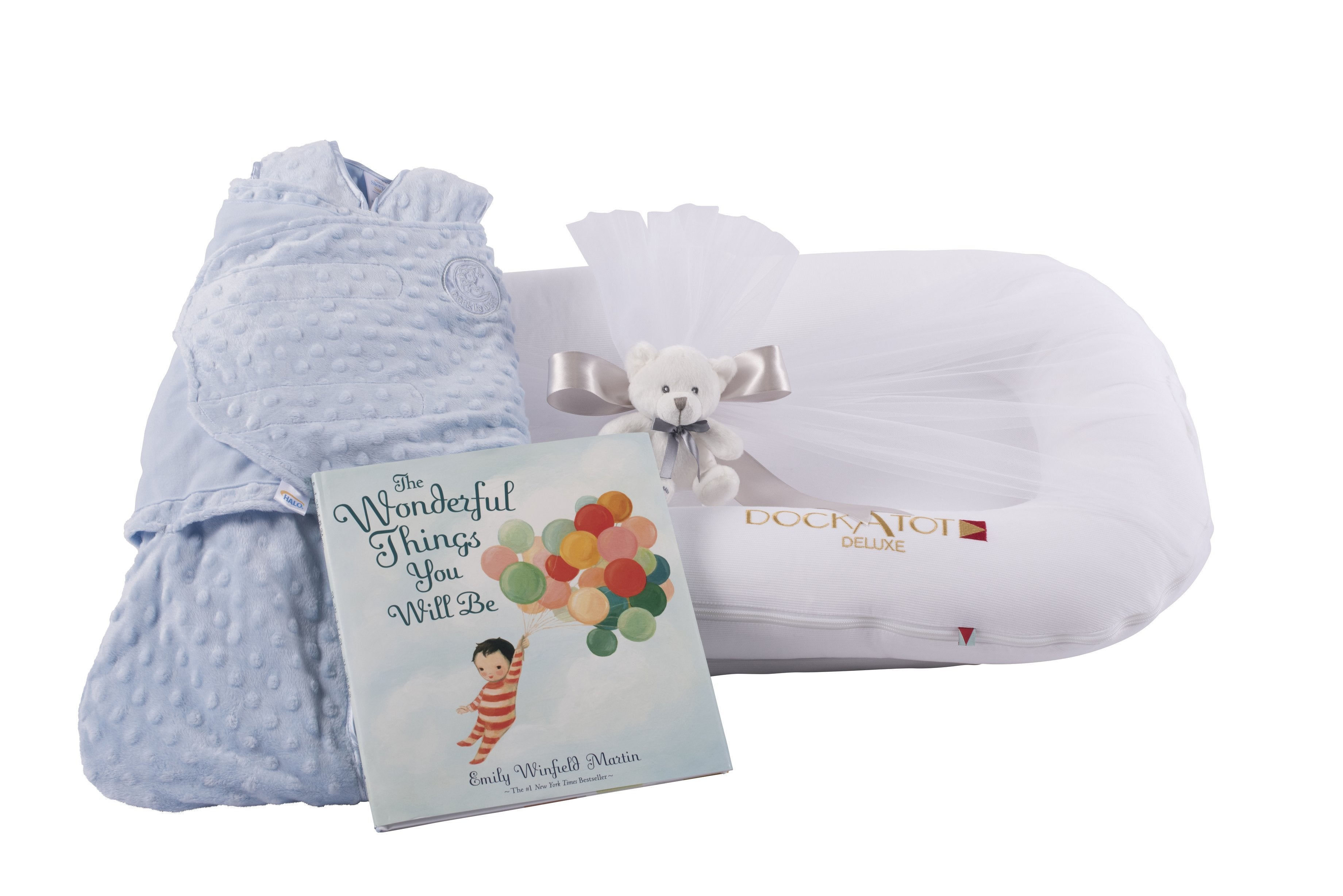 Dockatot baby boy gift set the dream gift the baby gift box dockatot baby shower gift for baby boy personalization available by the baby gift box negle Images