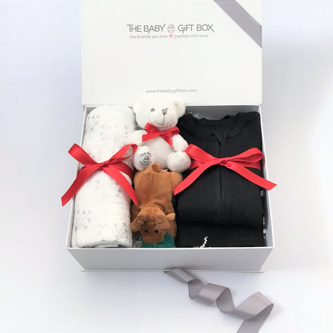Tiny Joy - Black | Baby Gift Set