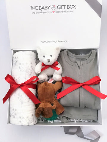 Tiny Joy - Grey | Baby Gift Set