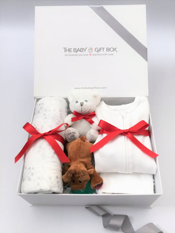Tiny Joy - White | Baby Gift Set