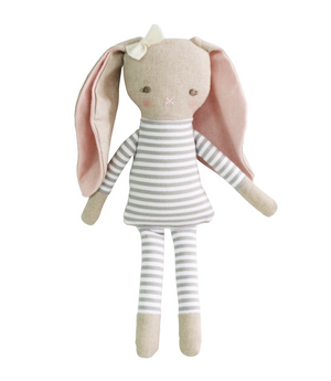 Baby Girl Doll |  Asleep Awake Bedtime Bunny | Alimrose