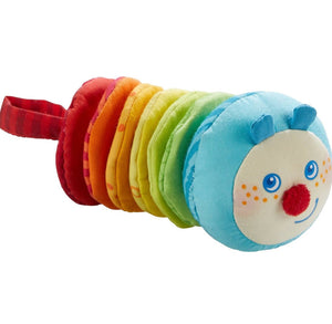 Baby Toy | Clatter Figure Caterpillar Mina | Haba