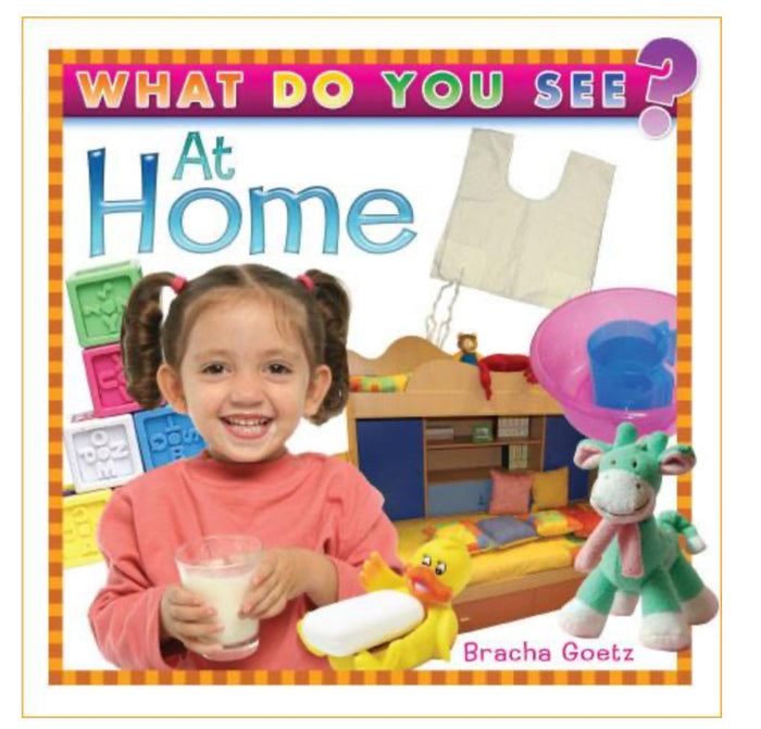 Board Book | What Do You See At Home?