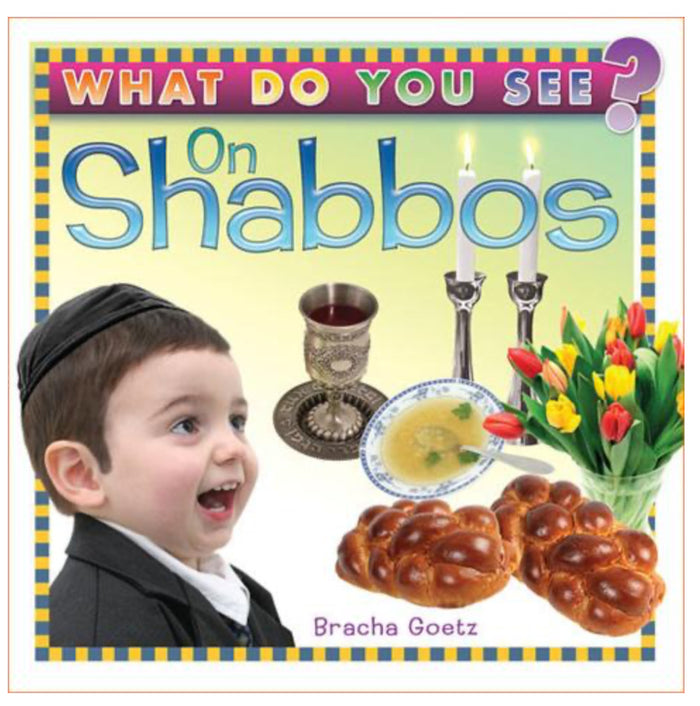 Board Book | What Do You See on Shabbos?