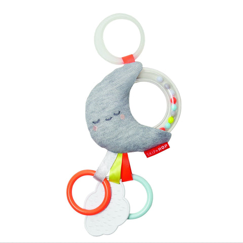 Skip Hop Stroller Toy Rattle Moon Stroller Toy - By Skip Hop