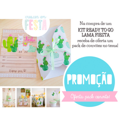 Kit de Festa Ready to Go | Lama Fiesta