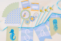 Kit de Festa UNDER THE SEA Impresso {BASE}