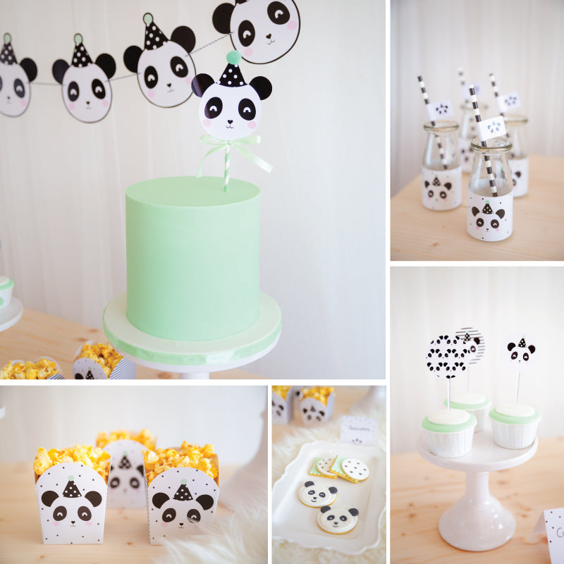 Kit de Festa Ready to Go | Panda