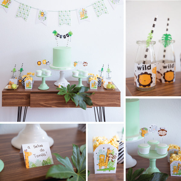 Kit de Festa Ready to Go | Selva