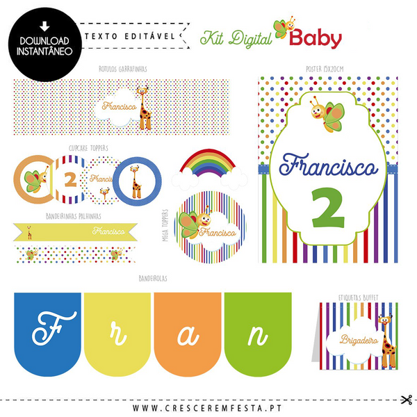 Kit de Festa Digital Baby TV