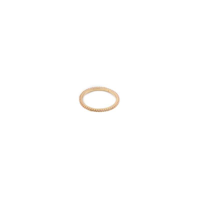 CZ Infinity Band Stacking Ring