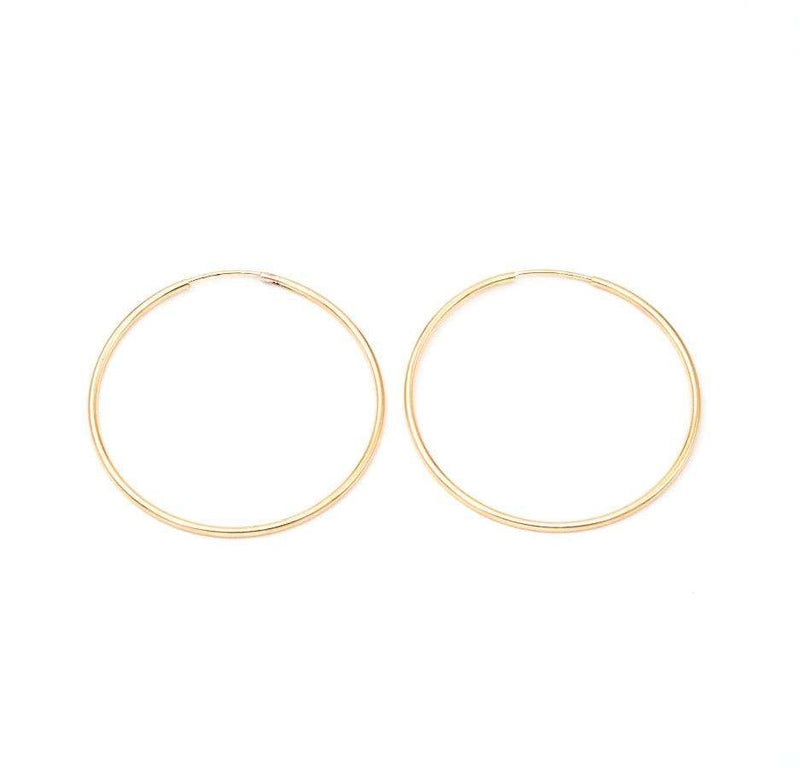 40 MM Gold Filled Hoops