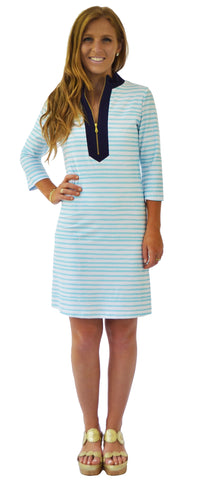 Addie Tunic Dress in Creme De La Creme