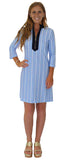 Adelaide Tunic Dress in Oxford Stripe