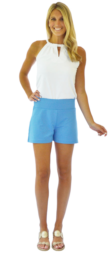 Bridget Short in French Blue (Final Sale)
