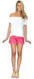 Bridget Short in Flower Fantasy Pink (Final Sale)