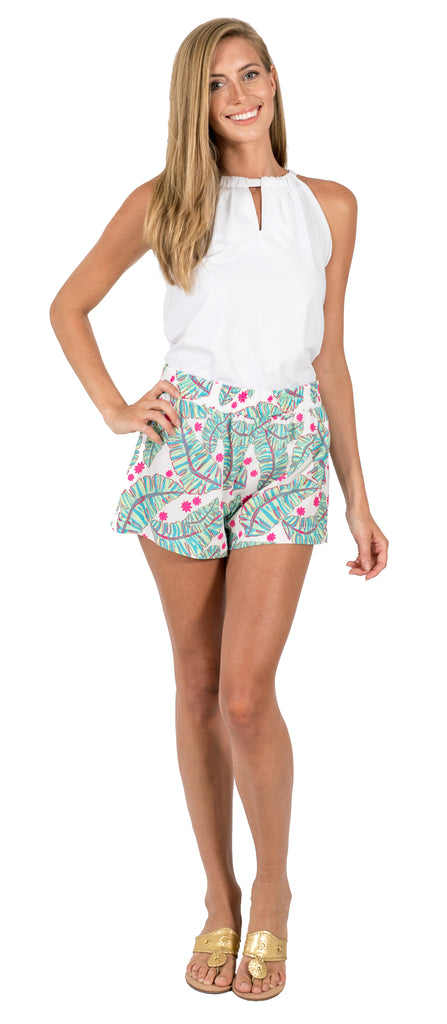 Brie Shorts in Palm Party (Final Sale)