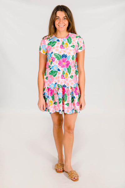 Clara Dress in Bonita Bloom
