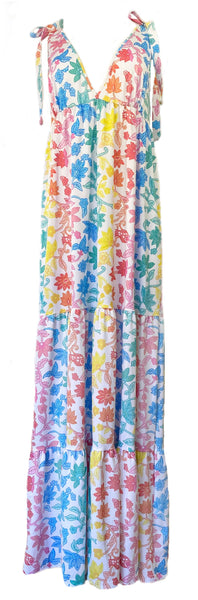 Clementine Maxi Dress in Indie Floral