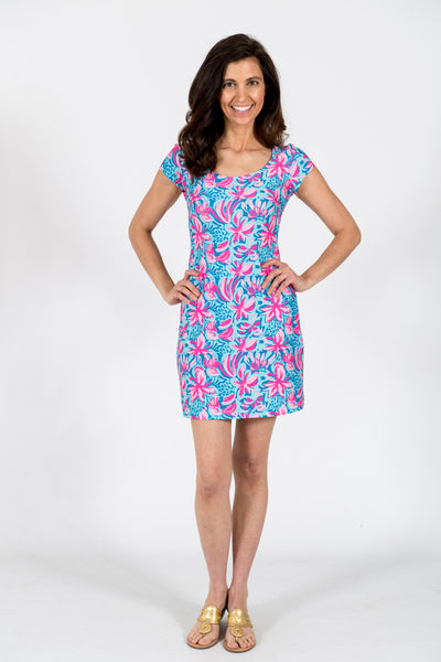 McKinley Shift Dress in Flower Burst