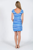 McKinley Shift Dress in Euro Stripe